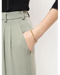 Jemma Wynne - Metallic Link Chain Bracelet - Lyst
