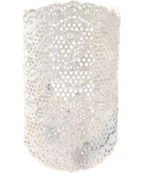 Aurelie Bidermann - Metallic Large 'vintage Lace' Cuff - Lyst