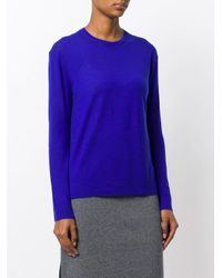 Pringle of Scotland - Blue Classic Round Neck Sweater - Lyst