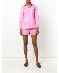 Emilio Pucci Pink Turn-up Hem Shorts
