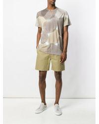 Federico Curradi - Natural Blotch Print T-shirt for Men - Lyst