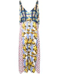 Marni - Multicolor Patchwork Print Shift Dress - Lyst