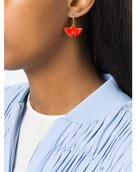 Aurelie Bidermann - Metallic Tangerine Earrings - Lyst