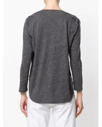 Closed - Gray Bias Cut Top - Lyst