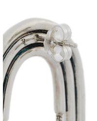 Pamela Love - Metallic Small Iris Earrings - Lyst