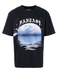 M I S B H V - Black Fantasy Print T-shirt for Men - Lyst