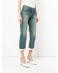 Tu Es Mon Tresor - Blue Ankle Ribbon Antique Jeans - Lyst