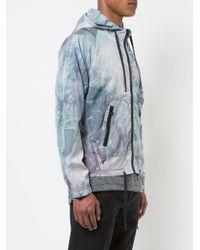 John Elliott - Blue Tie-dye Hooded Jacket for Men - Lyst