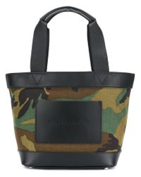 Alexander Wang - Green Camouflage Tote Bag - Lyst