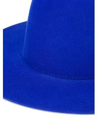 Etudes Studio - Blue Plain Hat - Lyst