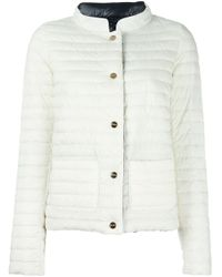 Herno White High-neck Jacket