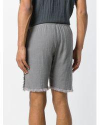 Caravana - Gray Tunkan Shorts for Men - Lyst