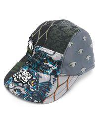 KENZO - Multicolor Printed Baseball Cap for Men - Lyst