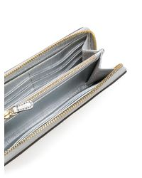 Anya Hindmarch - Metallic All Around Zip Wallet - Lyst