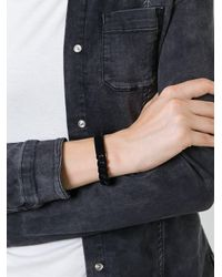 MM6 by Maison Martin Margiela - Black Chain Bracelet - Lyst