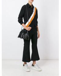 Stella McCartney - Black 'falabella' Bucket Shoulder Bag - Lyst