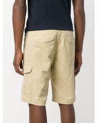 Woolrich - Natural Cargo Shorts for Men - Lyst