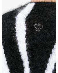 Emilio Pucci - Black Zebra Printed Sweater - Lyst