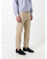 Polo Ralph Lauren - Natural Cropped Chinos for Men - Lyst