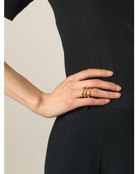 Aurelie Bidermann - Metallic 'esteban' Ring - Lyst