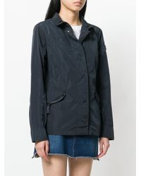 Peuterey - Blue Zipped Fitted Jacket - Lyst