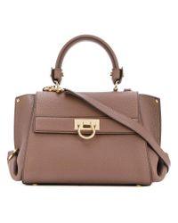 Salvatore Ferragamo 'Medium Sookie' Leather ... - Pinterest