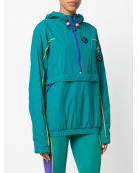 Adidas Originals Green Pharrell Williams Hu Hiking Packable Windbreaker Jacket
