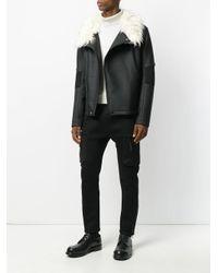 Helmut Lang - Black Track Pants With Mesh Pockets for Men - Lyst
