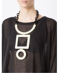 Osklen - Multicolor Geometric Necklace - Lyst