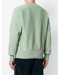 Champion - Green Crew-neck Sweatshirt for Men - Lyst