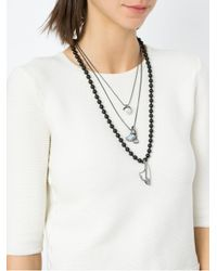 Camila Klein - Metallic Three Necklaces Set - Lyst