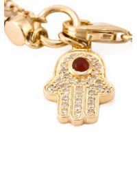 Astley Clarke - Red 'hamsa Biography' Bracelet - Lyst