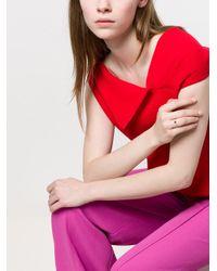 Pomellato - Multicolor 18kt Rose Gold M'ama Non M'ama Garnet & Diamond Ring - Lyst