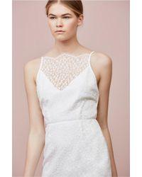 Keepsake - White Daydream Lace Dress - Lyst
