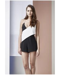 Finders Keepers - Black Hold Us Playsuit - Lyst