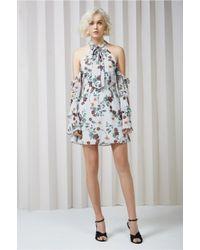 Keepsake - Gray Twilight Dreams Mini Dress - Lyst