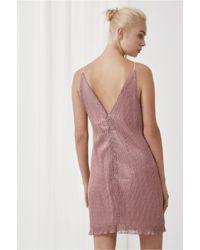 Keepsake - Purple She's Gone Mini Dress - Lyst