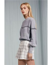 The Fifth Label - Gray Accent Knit - Lyst