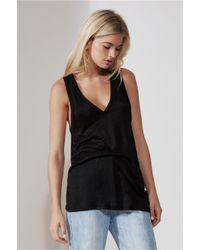 The Fifth Label - Black Sadie Singlet - Lyst