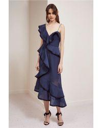 Keepsake - Blue My Everything Dress - Lyst