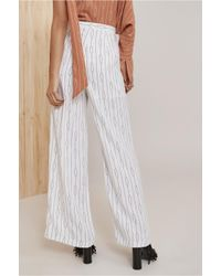 C/meo Collective - White Everlasting Pant - Lyst