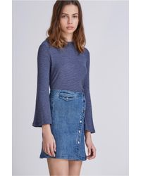 The Fifth Label | Blue One Way Ticket Skirt | Lyst