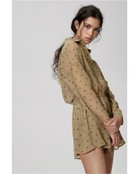 The Fifth Label - Natural Midnight Memories Playsuit - Lyst