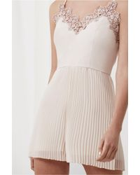 Keepsake - Natural All Time High Playsuit - Lyst