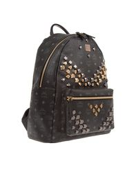 MCM Stark Backpack Medium Black