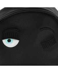 Chiara Ferragni - Backpack Eco Leather Big Charme Nero/black - Lyst