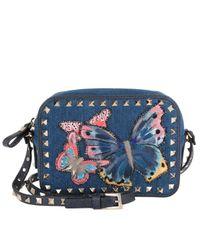Valentino   Multicolor Butterfly 'crossbody' Bag   Lyst