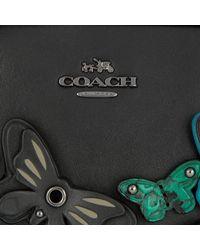 COACH - Butterfly Applique Crossbody Bag Black - Lyst