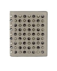 Christian Louboutin - Gray Paros Wallet Grey - Lyst