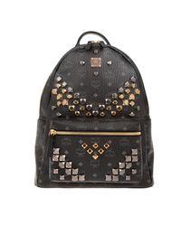 MCM - Stark Backpack Medium Black - Lyst